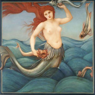 mermaid ~ Sir Edward Burne - Jones