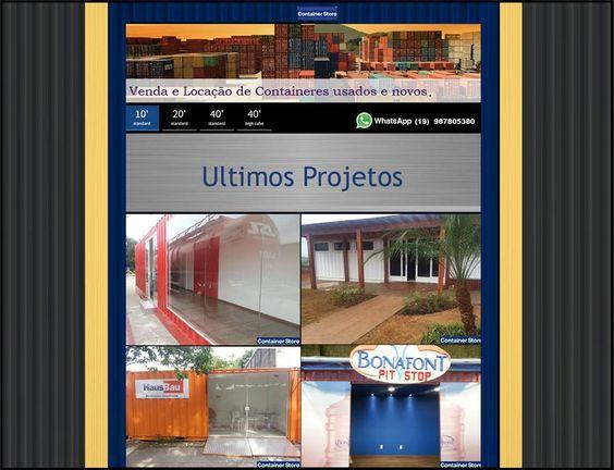 Casa Container , Lojas container , Bar container , restaurante