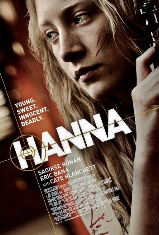 """SAOIRSE RONAN .... IS """"HANNA"""", WITH CATE BLANCHETT AS THE BAD GUY, GREAT MOVIE !"""