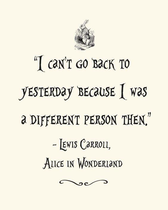 Alice and wonderland tattoo quotes