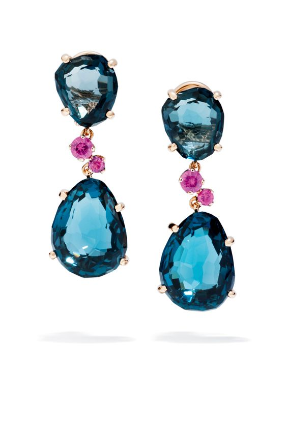 pomellato earrings Love these two colours together