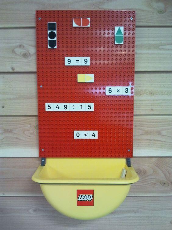 Lego wandbord