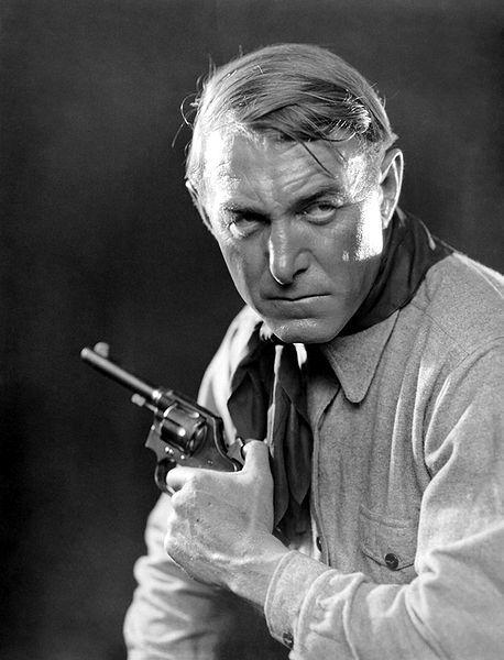 Harry Carey, Sr. - Yeah, varmint, he will shoot yer ass.