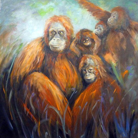 Family gathering -Art by Ivana Pinaffo