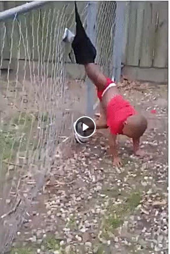 Quando a criança quer fugir da mamãe.