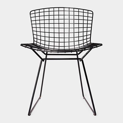Bertoia Side Chair, 1952 by Harry Bertoi #Chair #Harry_Bertoia