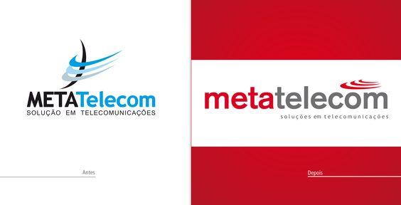 Cliente: MetaTelecom | Peça: Redesigner de Marca | Agência: Promovva Comunicação Estratégica