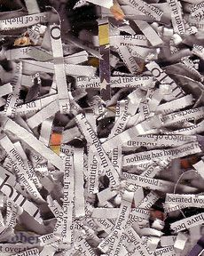 Composting with newspaper