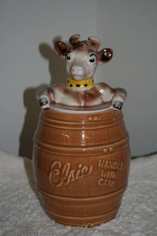 Vintage Cookie Jars For Sale This Original Vintage Elsie