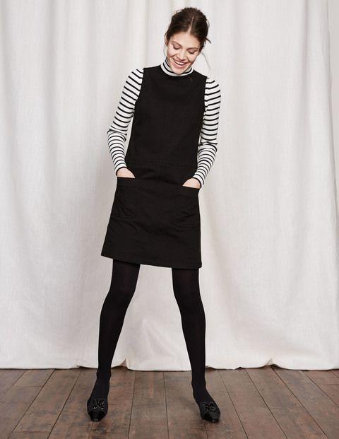 Trafalgar Modern Dress | Black Denim | Boden