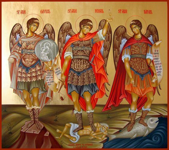 Dieu Trinitaire et Un, je vous supplie humblement par l'intercession de la Vierge Marie, de Saint Michel Archange, de tous les Anges et de tous les Saints, de nous faire la grande grâce de vaincre les forces des ténèbres en France, en Pologne et dans le monde entier, en mémoire des mérites de la Passion de Notre Seigneur Jésus-Christ, de Son très Précieux Sang versé pour nous, de Ses Saintes Plaies, de Son Agonie sur la Croix et de toutes les souffrances endurées pendant la Passion et tout a...
