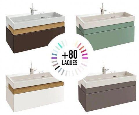 Meuble Sous Plan Vasque Premium 150 Cm Jacob Delafon Creative Bathroom Design Bathroom Design Layout Bathrooms Remodel