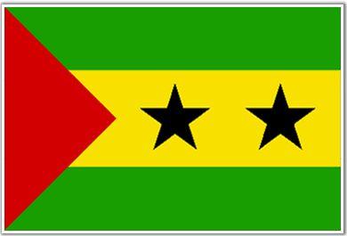 Drapeau de Sao Tomé et Principe (#Flag of #Sao #Tome and #Principe)