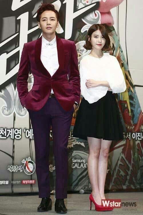 JKS and IU ~ Beautiful Man/Pretty Man