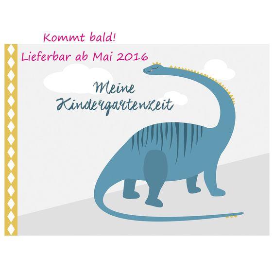 """""""Meine Kindergartenzeit"""" - Dinos (für Jungen und Mädchen geeignet)"""