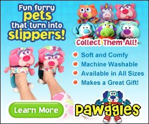 Wicked cute slippers - pawggles