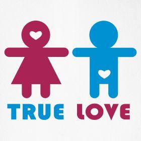 La vérité sur le grand amour....    Design disponible sur www.669.fr