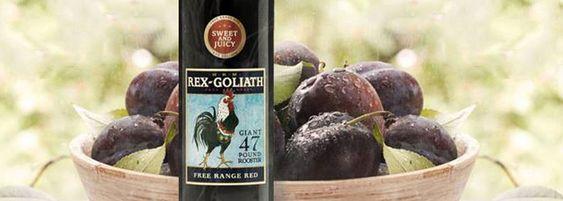 Rex Goliath Free Range Red Wine Blend - Bold Wines, Fun Times