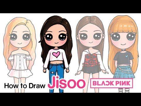 How To Draw Jisoo Blackpink Kpop Youtube Goruntuler Ile