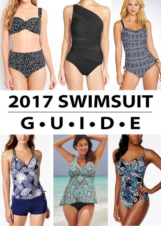 2017 Swimsuit Guide for Moms | Click through for product links!