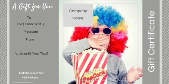 Free Photo Gift Certificate Templates Use our free online gift - certificate maker online free