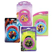 For gift bags...Bulk Licensed Character Mini Flying Discs, 2-ct. Packs at DollarTree.com