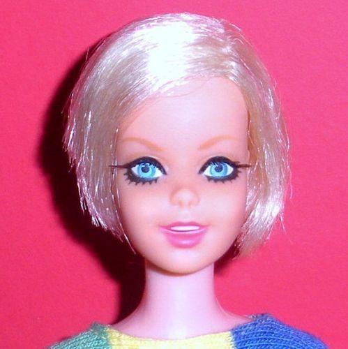 Vintage-Mod-1967-Platinum-Blonde-TNT-Twiggy-Japan