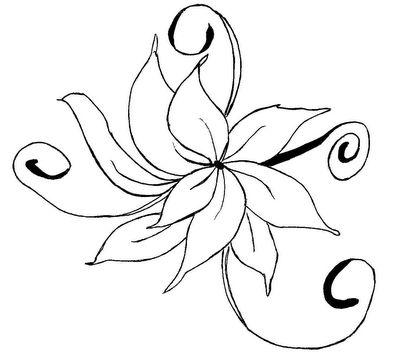 Flores para bordar e pintar - Riscos - Toda Atual