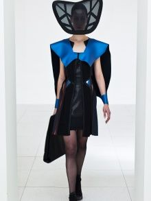 Symmetric Strategy Dress With Cape   NOT JUST A LABEL