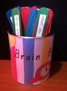 brain breaks ideas