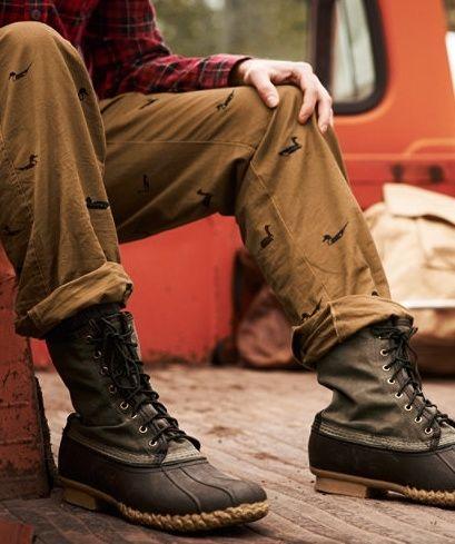 L.L. Bean Tumbled Leather Snow Boots