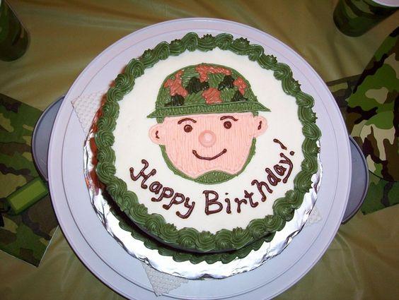 Little Soldier Birthday Cake — Childrens Cakes