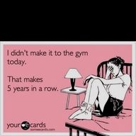 not anymore :) but I did have those years in my life!!