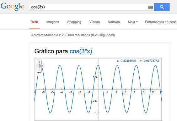 """O Google tem algumas boas funcionalidades para além da pesquisa na internet. Aqui vamos destacar a de cálculo matemático, que funciona de forma semelhante à consulta por meio de texto. Para saber o resultado de algum cálculo, vá até acaixa de pesquisa do Google, digite a conta no teclado numérico e tecle enter. Será exibido...<br /><a class=""""more-link"""" href=""""https://catracalivre.com.br/geral/dica-digital/indicacao/saiba-como-fazer-calculos-e-graficos-usando-o-google/"""">Continue lendo »</a>"""