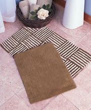 2-Pc. Plush Bath Rug Sets --LTD