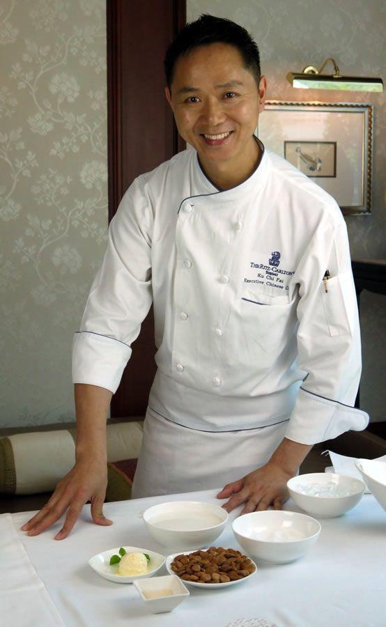 夏の王道スイーツ杏仁豆腐。北京の5つ星ホテル・リッツのチーフシェフに教わるレシピ