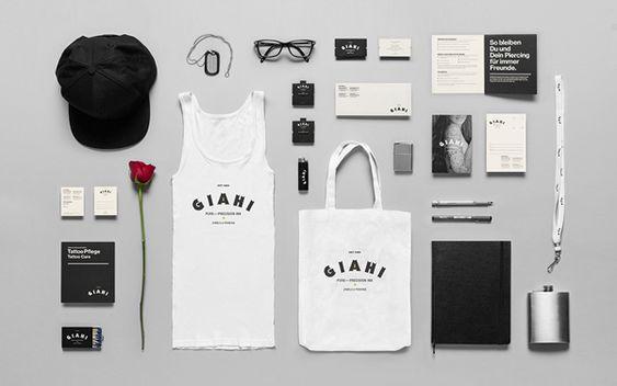 GIAHI | #stationary #corporate #design #corporatedesign #logo #identity #branding #marketing <<< found on www.grafiker.de pinned by an #advertising agency from #Hamburg / #Germany - www.BlickeDeeler.de | Follow us on www.facebook.com/BlickeDeeler