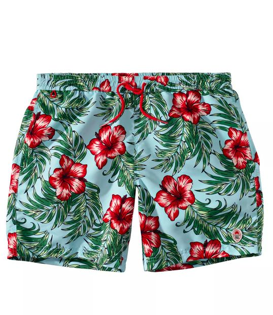 Pepe Jeans Badeshorts, Hawaii-Muster, Flower-Print, - buy it on fablife.de