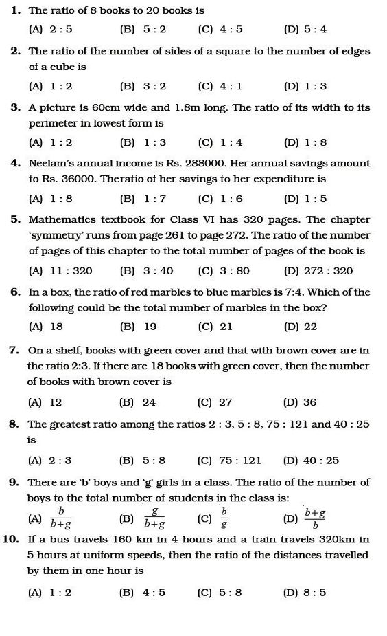 Ratio And Proportion Worksheet Class 6 Important Questions For Maths Ratio And Pr In 2020 Ratio And Proportion Worksheet Proportions Worksheet Ratios And Proportions