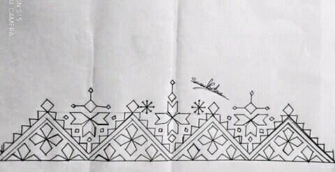 Pin By Irem Kus On Dessin A Brode Embroidery Neck Designs Embroidery Motifs Hand Embroidery Stitches