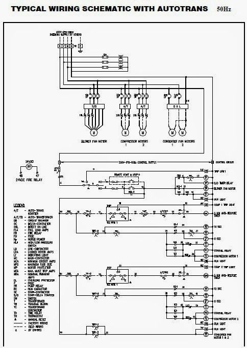Electrical Wiring Diagrams for Air Conditioning Systems – Part Two ~  Electrical Kn… in 2020 | Electrical wiring diagram, Air conditioning  system, Electrical circuit diagramPinterest