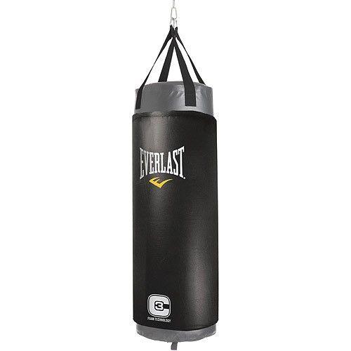 Everlast C3 100 Pound Foam Elite Heavy Bag Black Heavy Bags Boxing Bags Heavy Punching Bag