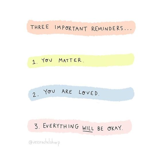 "Jess Sharp on Instagram: ""Reminders 🧡💛💚💙 #youareworthy #youareenough #foryou #positvereminders #thingstoremember #notetoself #selflovefirst #selfworth…"""