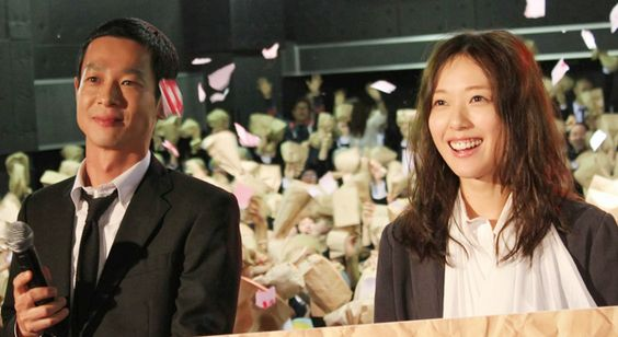 加瀬亮さんと戸田恵梨香さん