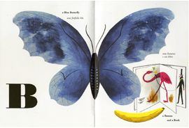 Beautiful ABC book from the 60's from renowned Italian designer and artist Bruno Munari.