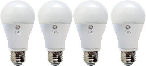 Discounted Philips Led Dimmable A19 Frosted Light Bulb 800 Lumen 2700 Kelvin 9 5 Watt 60 Watt Equivalent E26 Base Ge Lighting Led Light Bulb Light Bulb