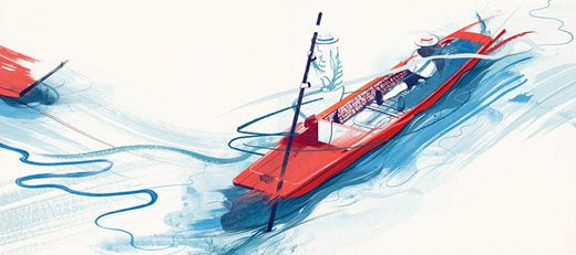 Illustrations for Hannay Robertson by Andrew Archer