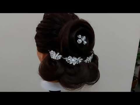 تسريحة للأعراس والحفلات تصلح لجميع الأعمار Hairstyle For Weddings An Hair Stiles Hair Fashion