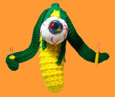 crochet them before they eat you !!!
