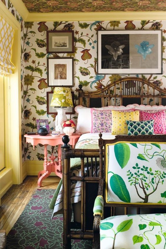 Patterns Bohemian Vintage Bedrooms And Design On Pinterest